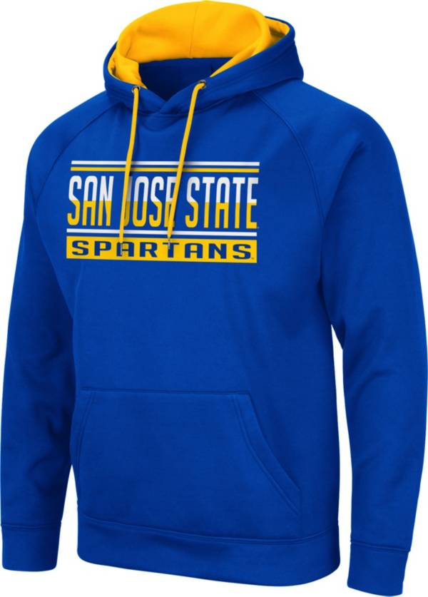 Colosseum Men's San Jose State  Spartans Blue Pullover Hoodie product image
