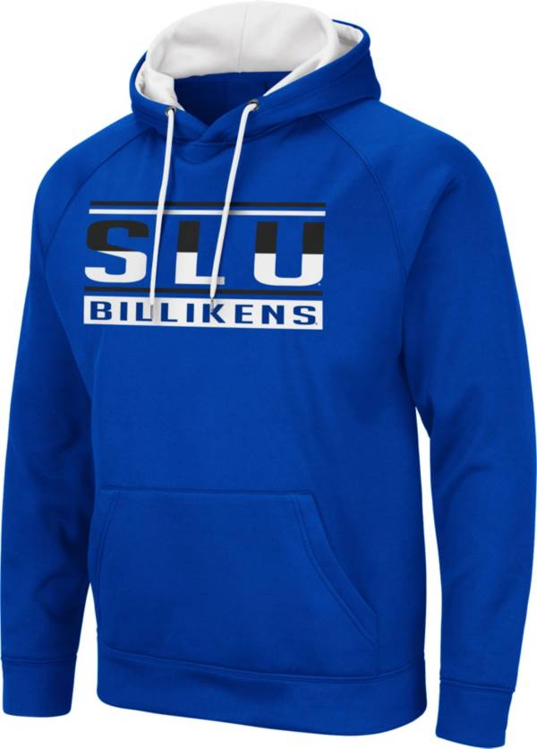 Colosseum Men's Saint Louis Billikens Blue Pullover Hoodie product image