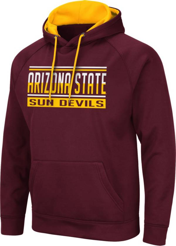 Colosseum Men's Arizona State Sun Devils Maroon Pullover Hoodie product image