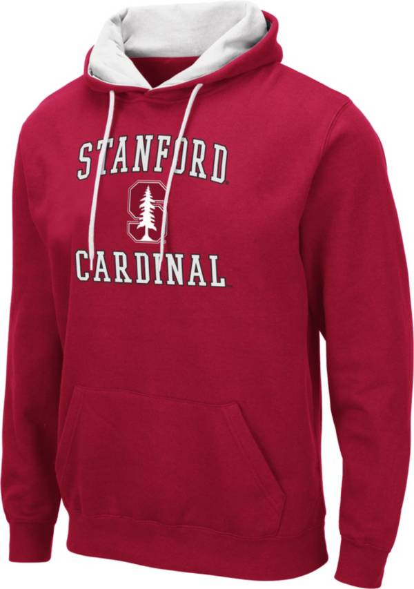Colosseum Men's Stanford Cardinal Cardinal Pullover Hoodie product image