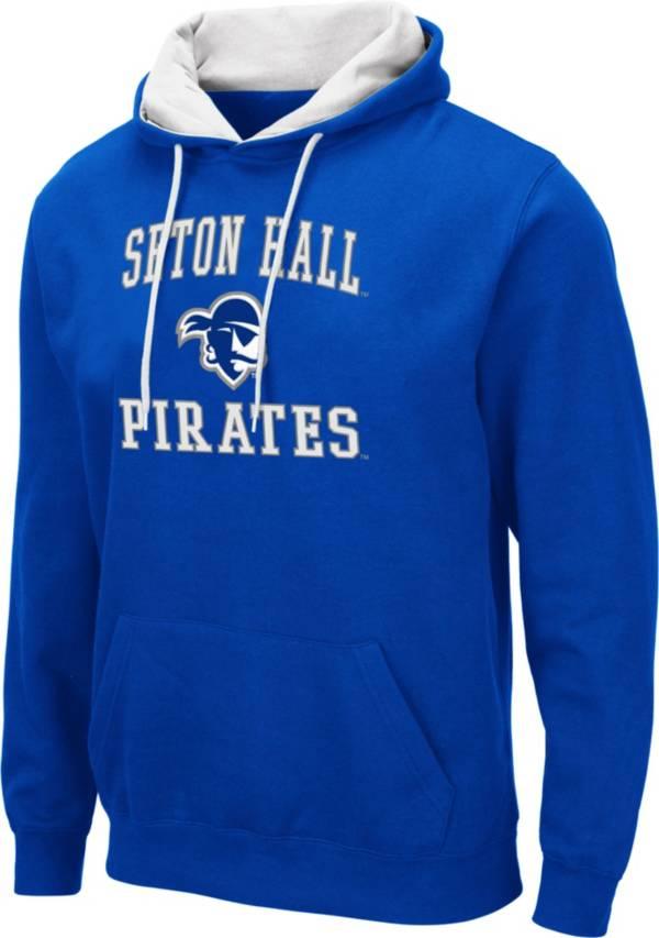 Colosseum Men's Seton Hall Seton Hall Pirates Blue Pullover Hoodie product image