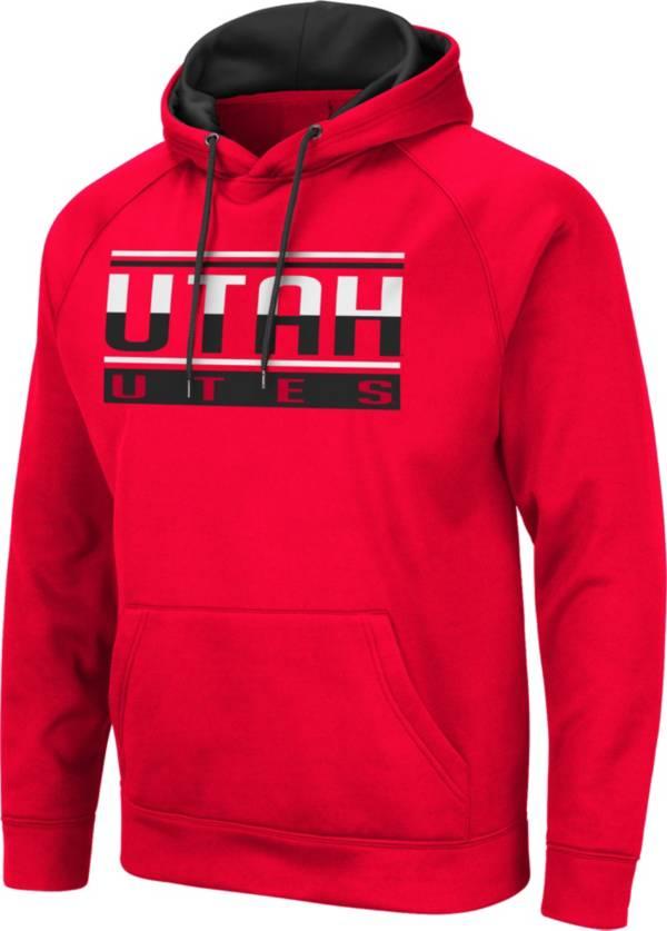 Colosseum Men's Utah Utes Crimson Pullover Hoodie product image