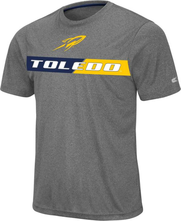 Colosseum Men's Toledo Rockets Grey Bait T-Shirt product image
