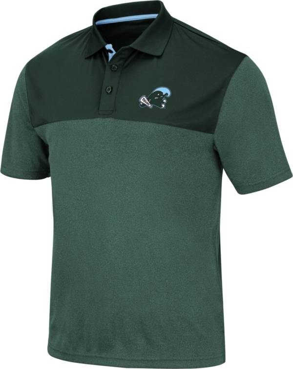 Colosseum Men's Tulane Green Wave Green Links Polo product image