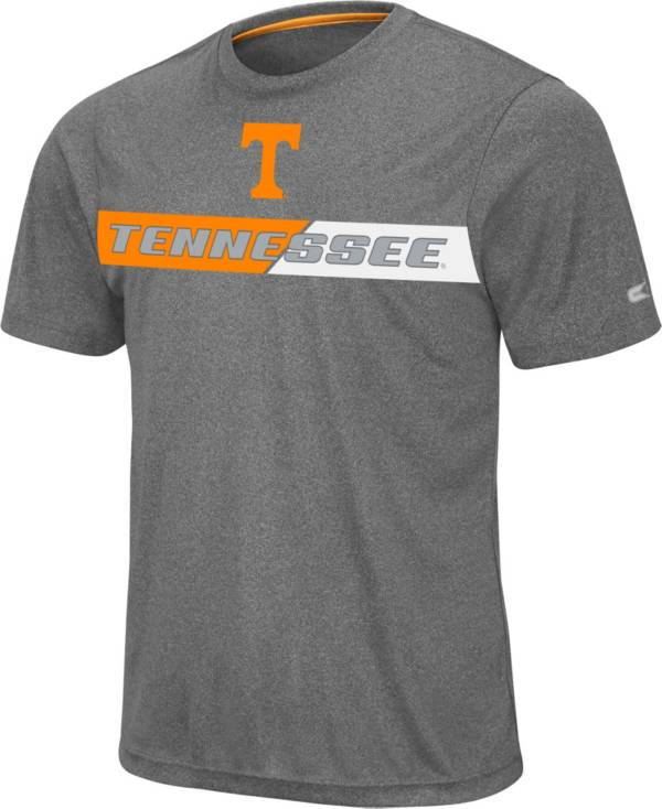 Colosseum Men's Tennessee Volunteers Grey Bait T-Shirt product image