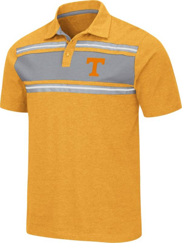 Colosseum Men's Tennessee Volunteers Tennessee Orange Doppelganger Polo product image