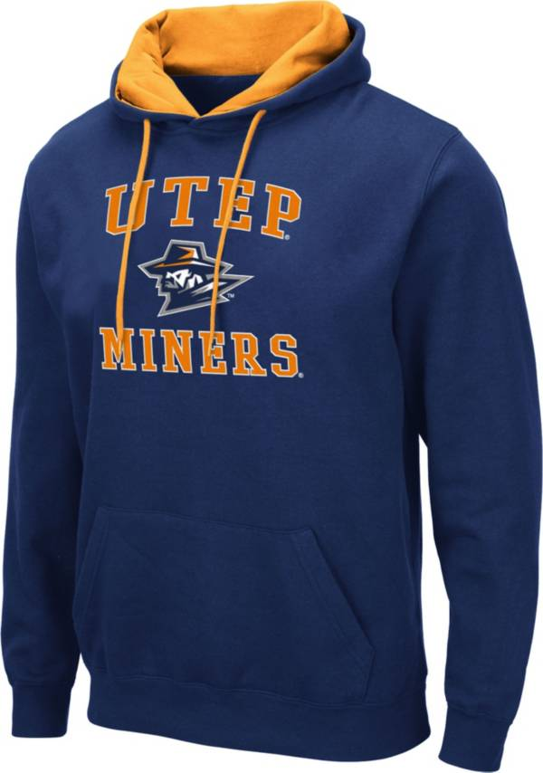 Colosseum Men's UTEP Miners Navy Pullover Hoodie product image