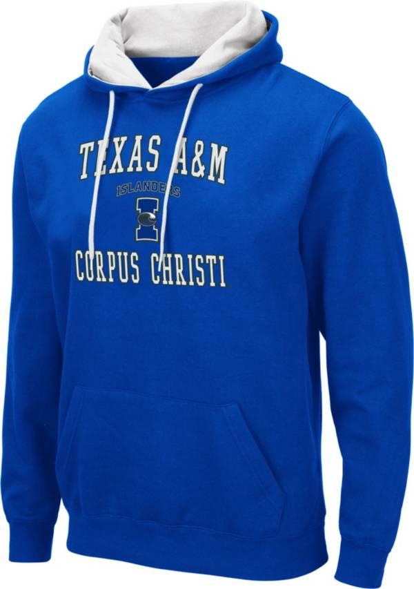 Colosseum Men's Texas A&M -Corpus Christi Islanders Blue Pullover Hoodie product image