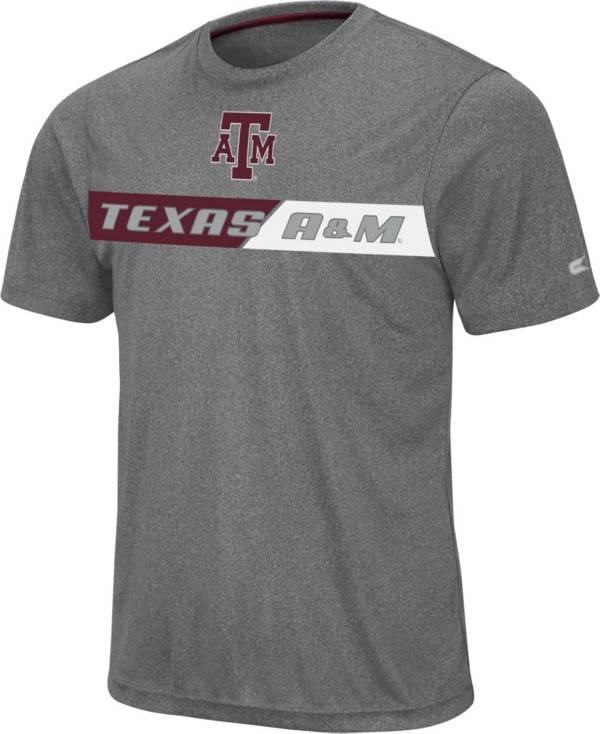 Colosseum Men's Texas A&M Aggies Grey Bait T-Shirt product image