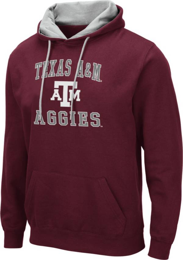 Colosseum Men's Texas A&M Aggies Maroon Pullover Hoodie product image