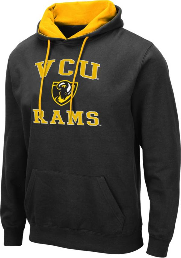 Colosseum Men's VCU Rams Pullover Black Hoodie product image