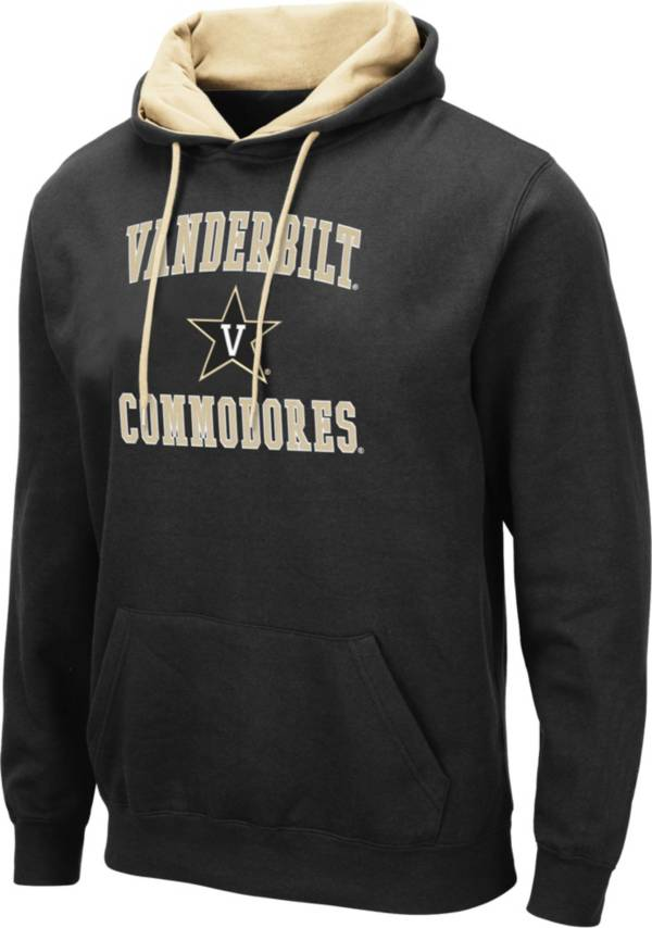 Colosseum Men's Vanderbilt Commodores Pullover Black Hoodie product image