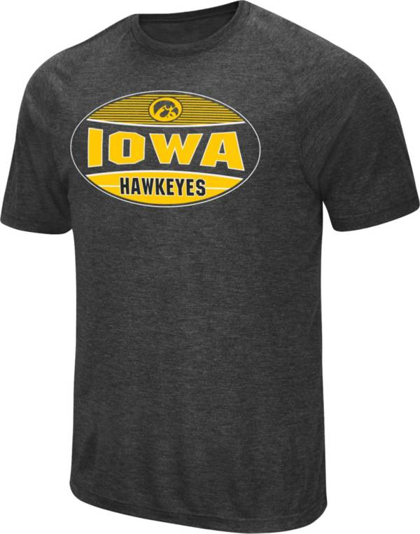 Colosseum Men's Iowa Hawkeyes Jenkins Black T-Shirt product image