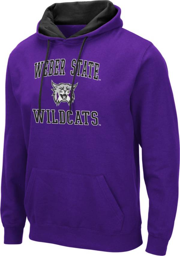 Colosseum Men's Weber State Wildcats Purple Pullover Hoodie product image