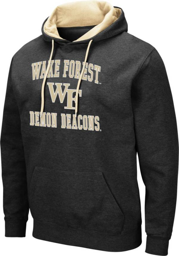Colosseum Men's Wake Forest Demon Deacons Pullover Black Hoodie product image