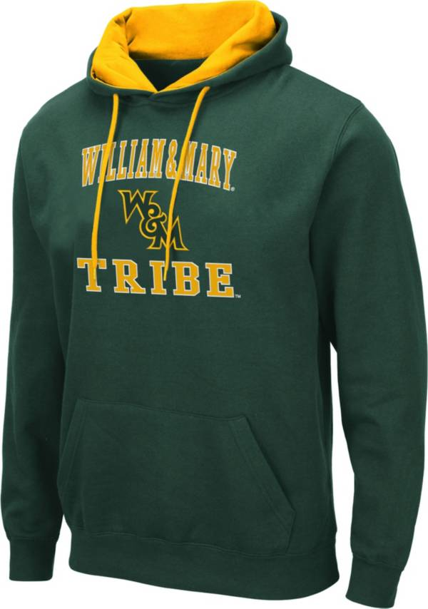 Colosseum Men's William & Mary Tribe Green Pullover Hoodie product image