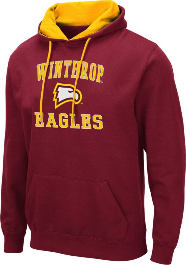 Colosseum Men's Winthrop  Eagles Garnet Pullover Hoodie product image