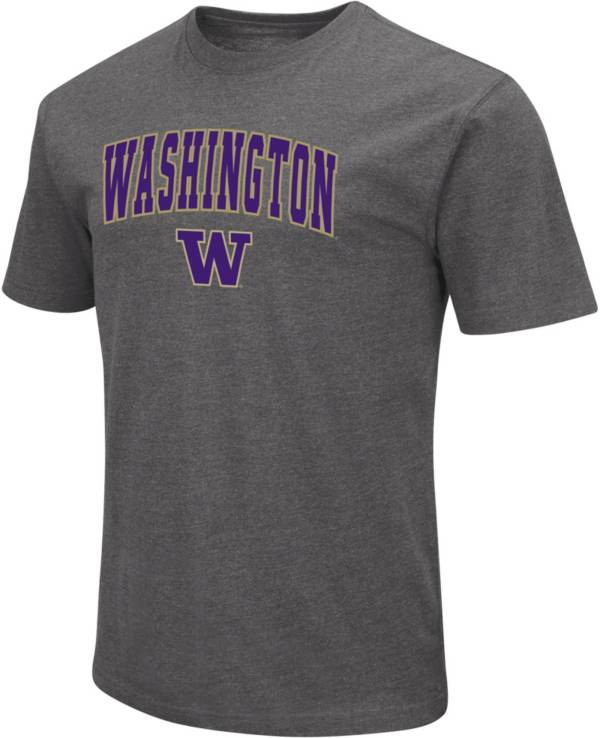 Colosseum Men's Washington Huskies Grey T-Shirt product image
