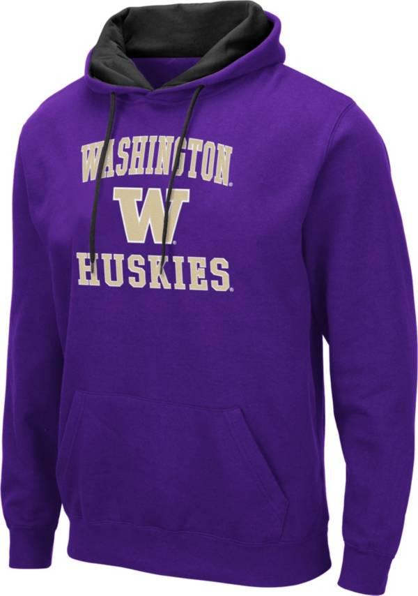 Colosseum Men's Washington Huskies Purple Pullover Hoodie product image