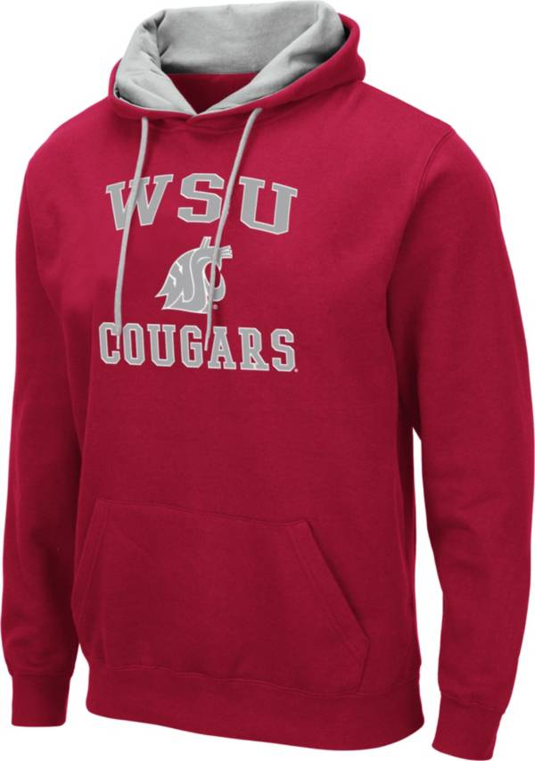 Colosseum Men's Washington State Cougars Crimson Pullover Hoodie product image