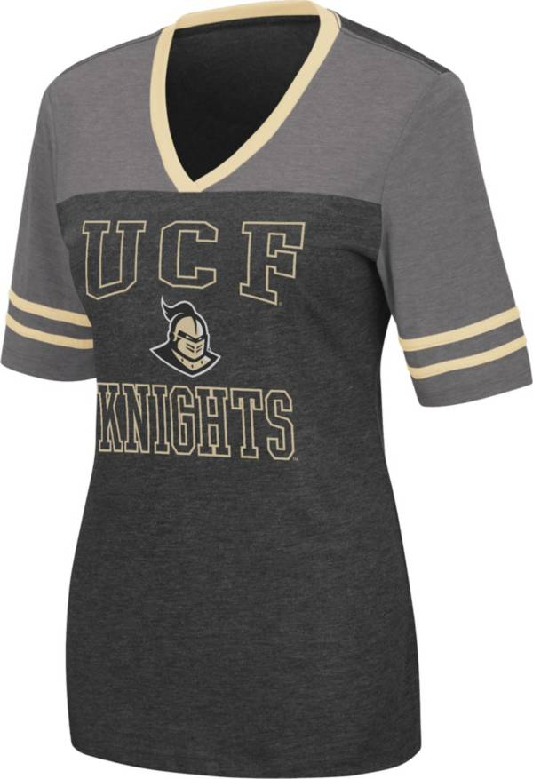 Colosseum Women's UCF Knights Cuba Libre V-Neck T-Black Shirt product image