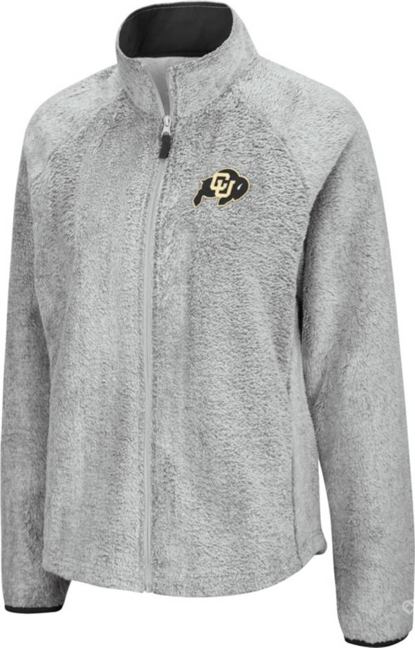 Colosseum Women's Colorado Buffaloes Grey Astronomy Full-Zip Jacket product image