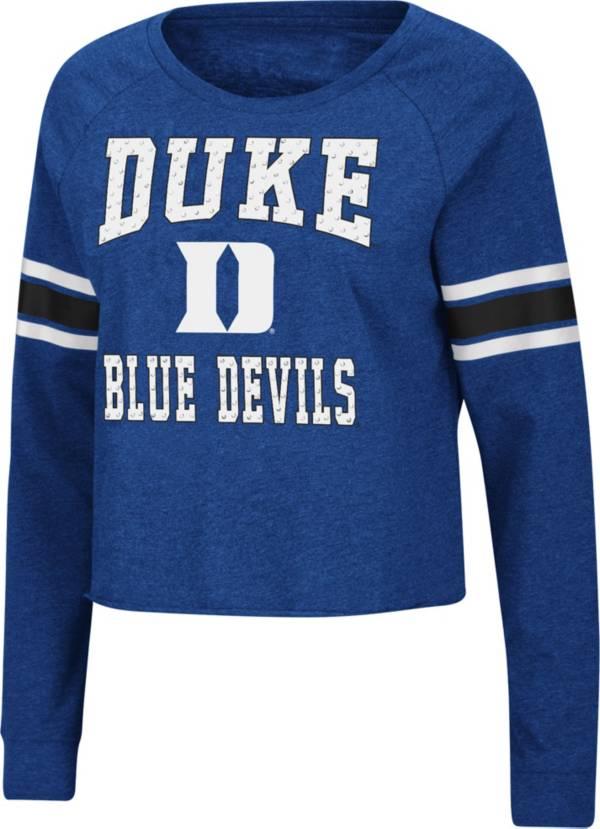 Colosseum Women's Duke Blue Devils Duke Blue Whimsical Long Sleeve T-Shirt product image