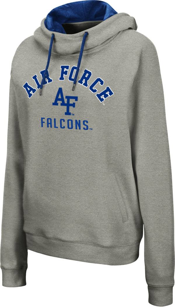 Colosseum Women's Air Force Falcons Grey Pullover Hoodie product image