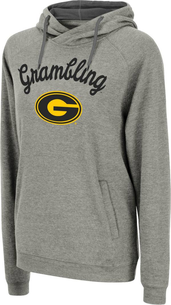 Colosseum Women's Grambling State Tigers Grey Pullover Hoodie product image