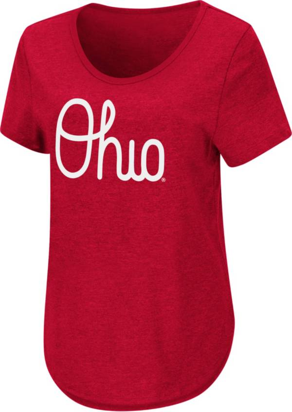 Colosseum Women's Ohio State Buckeyes Scarlet T-Shirt product image