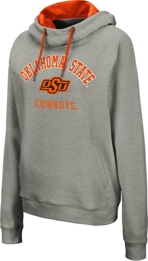 Colosseum Women's Oklahoma State Cowboys Grey Pullover Hoodie product image
