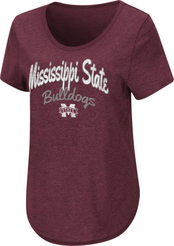 Colosseum Women's Mississippi State Bulldogs Maroon Rule Breaker T-Shirt product image