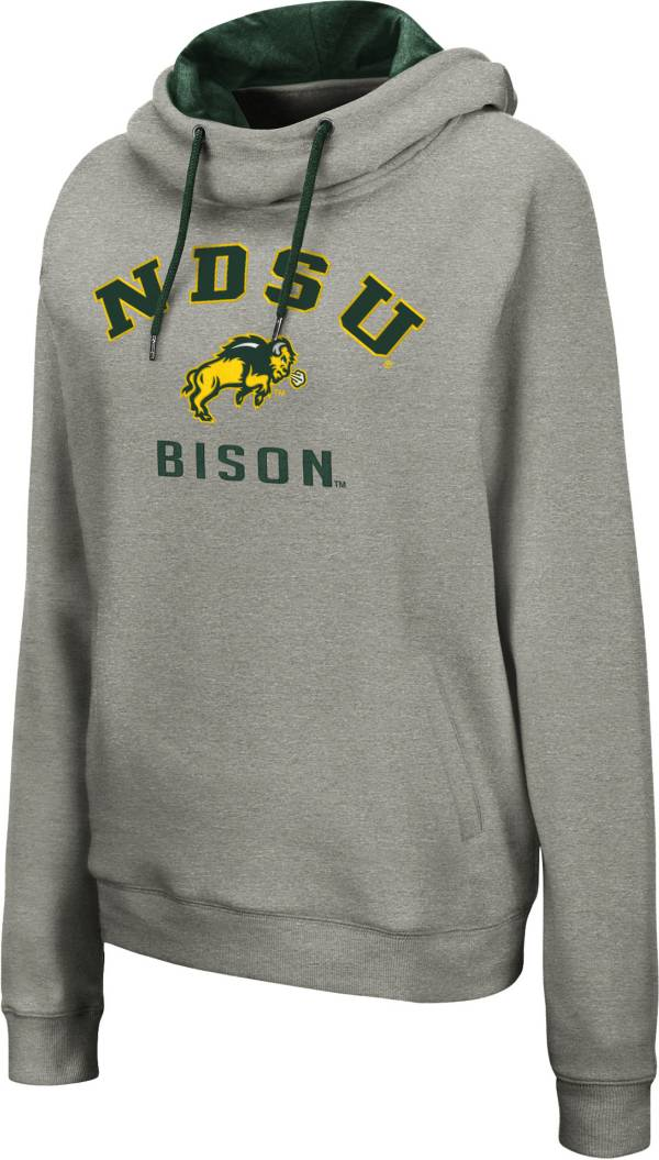 Colosseum Women's North Dakota State Bison Grey Pullover Hoodie product image