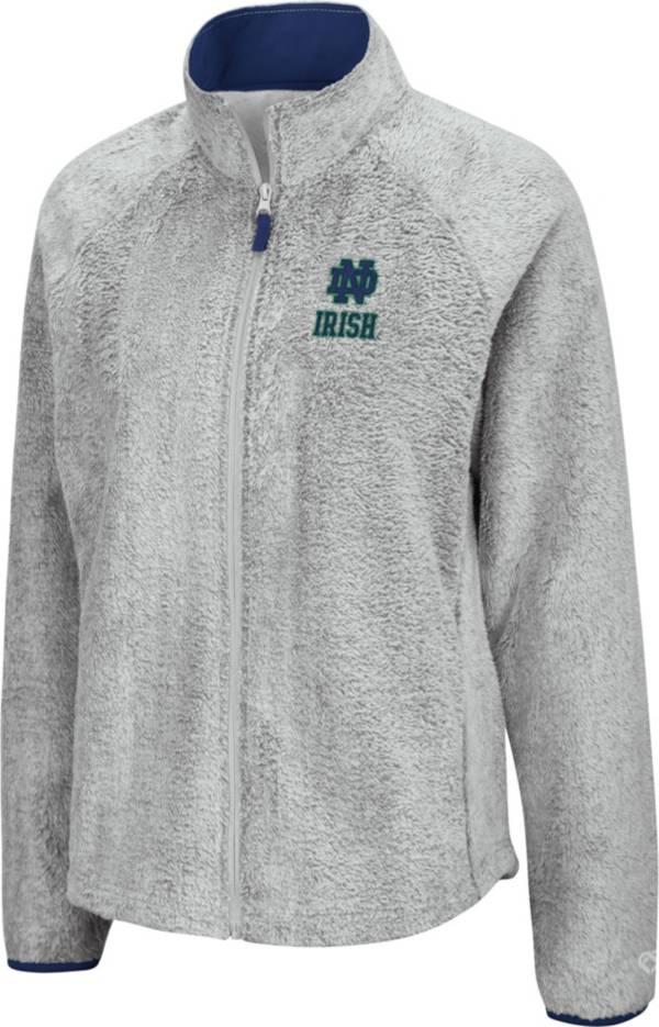 Colosseum Women's Notre Dame Fighting Irish Grey Astronomy Full-Zip Jacket product image