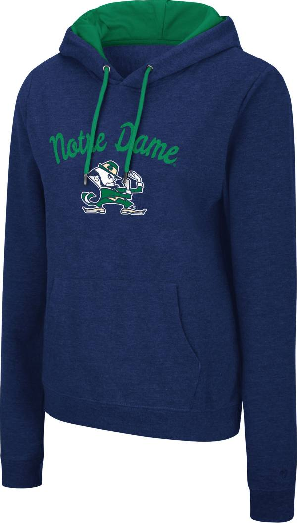 Colosseum Women's Notre Dame Fighting Irish Navy Pullover Hoodie product image