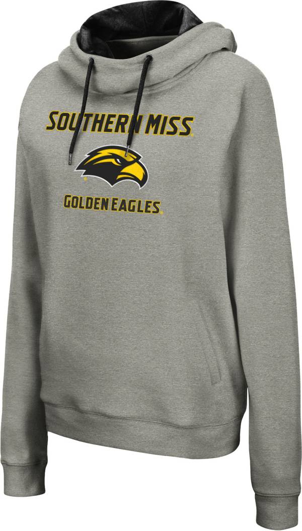 Colosseum Women's Southern Miss Golden Eagles Grey Pullover Hoodie product image