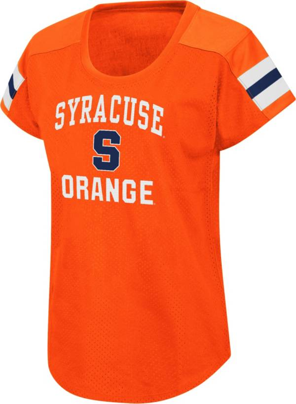 Colosseum Women's Syracuse Orange Orange Football Dolman T-Shirt product image