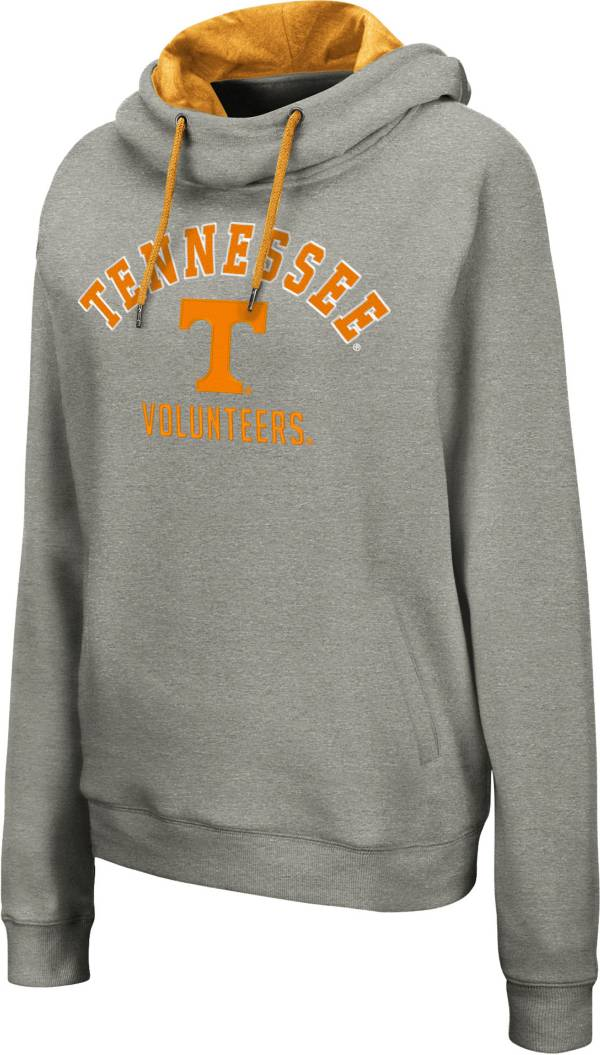 Colosseum Women's Tennessee Volunteers Grey Pullover Hoodie product image