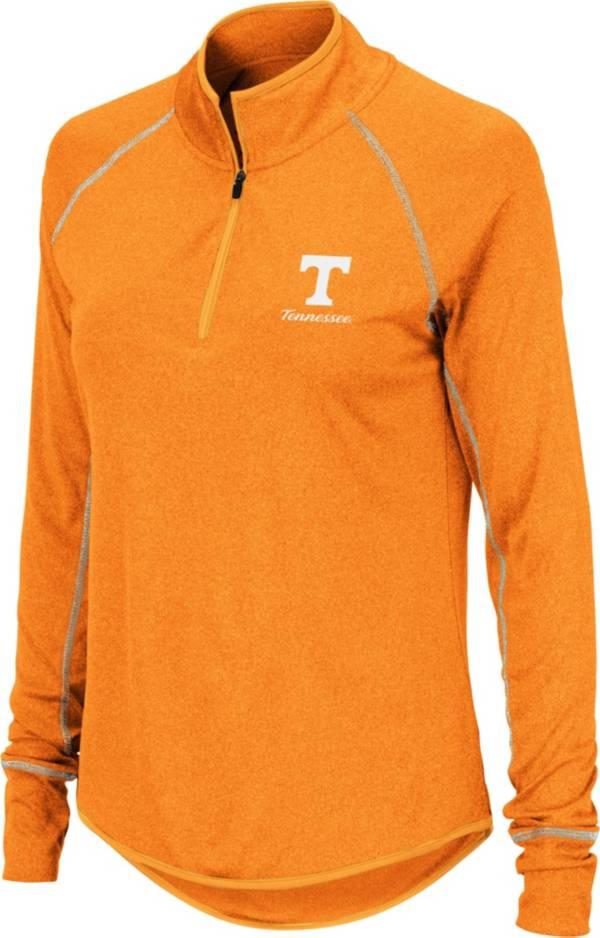 Colosseum Women's Tennessee Volunteers Tennessee Orange Stingray Quarter-Zip Shirt product image