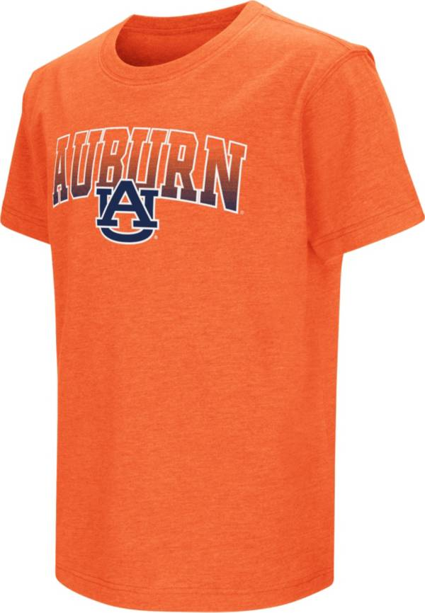 Colosseum Youth Auburn Tigers Orange Dual Blend T-Shirt product image