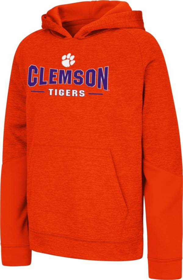 Colosseum Youth Clemson Tigers Orange Pods Pullover Fleece Hoodie product image