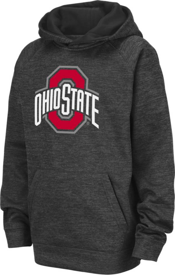 Colosseum Youth Ohio State Buckeyes Gray Pullover Hoodie product image