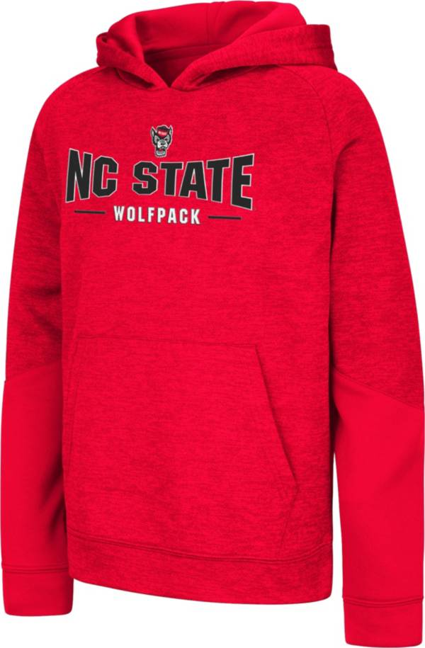 Colosseum Youth NC State Wolfpack Red Pods Pullover Fleece Hoodie product image