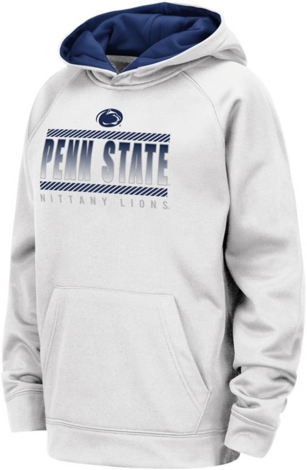 Colosseum Youth Penn State Nittany Lions Raglan Pullover White Hoodie product image