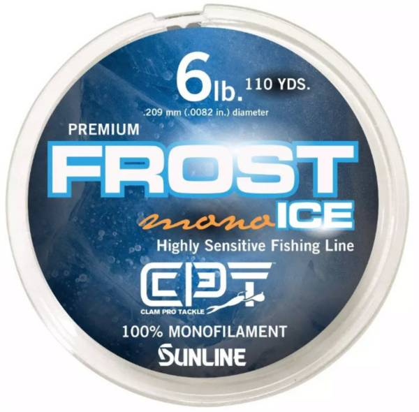 Clam Frost Ice Monofilament Fishing Line product image