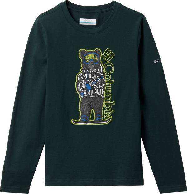 Columbia Boys' Naturally Wild Graphic Long Sleeve T-Shirt product image