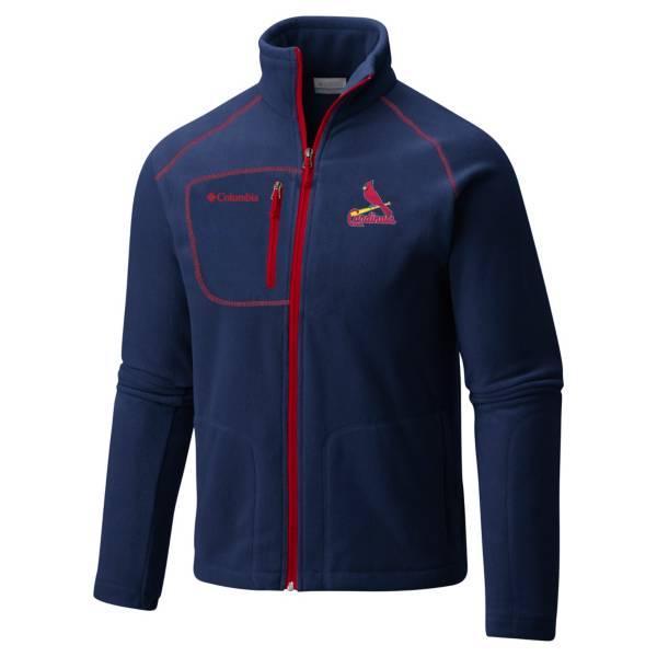 Columbia Men's St. Louis Cardinals Navy Fast Trek II Jacket product image