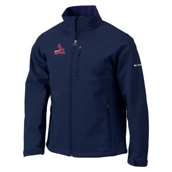 Columbia Men's St. Louis Cardinals Navy Ascender Softshell Jacket product image