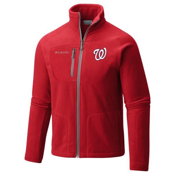 Columbia Men's Washington Nationals Red Fast Trek II Jacket product image