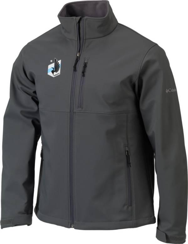 Columbia Men's Minnesota United FC Gray Ascender Softshell Jacket product image